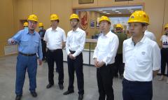 江西省生态环境厅赣北专员办来九江调研