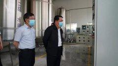 河南省生态环境厅厅长王仲田到中牟调研黄河