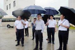 湖南省生态环境厅厅长邓立佳赴娄底市