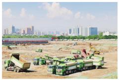 中信环境技术承建西北地区最大全地埋式MBR污水处理厂