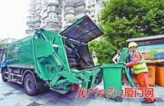 专车收运 生活垃圾直达处理厂 厦门市今年可望形成生活