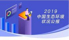 一图读懂《2019中国生态环境状况公报》