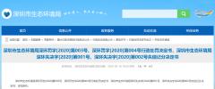 深圳生态环境局罚了交通局100万!