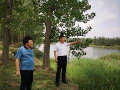 亳州市生态环境局实地调研涡河出入境