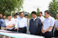 云南省副省长和良辉到玉溪调研抚仙湖