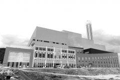 工作12年老厂歇息了 昆明市五华区垃圾焚烧发电厂新厂投产日处理量翻番