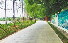北京连通城区河湖步道――美丽岸线,休闲赏绿两相宜