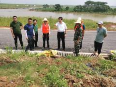 九江市生态环境局到共青城市、永修县督导生态环境系统