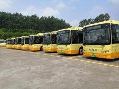 江门市区100%实现公交车电动化