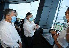 生态环境部部长赴北京大兴国际机场调研