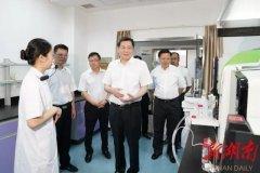 湖南省委书记杜家毫在省生态环境厅调