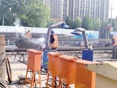 违反臭氧管控要求 郑州地铁8号线一期