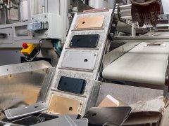 苹果碳中和实验:拆解旧iPhone、回收稀土的