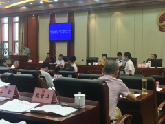 重庆市万州区人大常委会评议全区水污