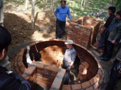 沼气池:中国农村的绿色贡献