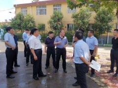 聊城市领导督导农村生活污水治理工作