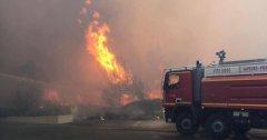 法国南部森林大火酿22伤 当局疏散约3000人