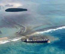 日本货轮触礁漏油 引发毛里求斯环境浩劫