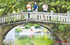 """政企双河长 共护""""河长治"""" 福州市打造建管合一的水系"""