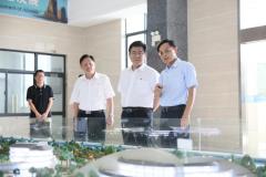 福建省副省长赵龙一行到自然资源部海岛研究中心调研