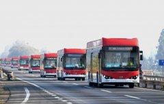 中国电动公交车开进拉美城市