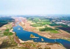 石家庄滹沱河生态修复二期工程完工