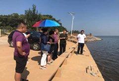 生态环境部调研组到庐山市对鄱阳湖蚌湖断面开展督导调研