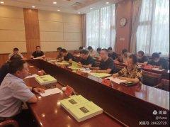唐山市大气办组织11家钢铁企业召开精准管控部署会