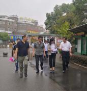 国家创卫办专家组检查九江市生态环境保护工作