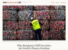 为什么生物塑料不能解决世界塑料污染