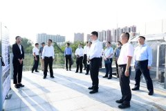 广东省副省长覃伟中一行到中国环境科学研究院交流座谈