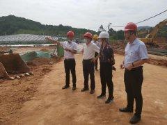 广州市生态环境局夏育民赴白云区调研督导市废弃物安全处置中心二期项目建设情况