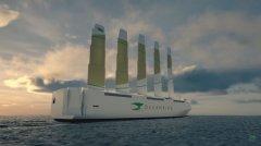 """瑞典船运业推出""""海洋鸟"""",以风为动"""