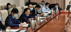 首创环境党委书记、董事长曹国宪参加河南省城市固体垃圾和水污染处理座谈会