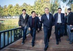武汉市副市长调研东湖水环境提升工程