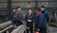 河南省省生态环境厅厅长赴焦作市武陟
