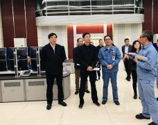 江西省生态环境厅赣北专员办调研组来九江市调研大气污