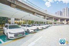 郑州市一座超大型新能源充电站落户中