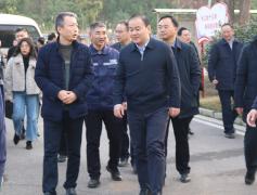 衡阳市考察组一行考察永清环保衡阳垃圾发电厂