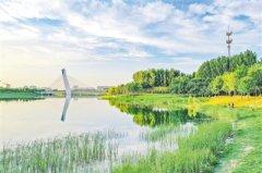 郑州十八门闸库区退渔复湿 助推黄河流
