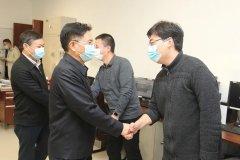 生态环境部党组书记孙金龙、部长黄润秋看望慰问机关干