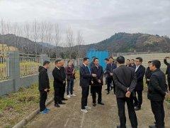 广元市领导赴青川县督导竹园镇污水处理站环保问题整改