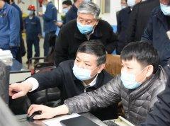 生态环境部部长黄润秋实地检查唐山市钢铁企业重污染天