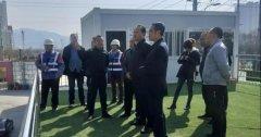 兰州市副市长韦青祥一行调研中信环境兰州七里河项目