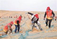 治沙防沙需久久为功 近十年来最强沙尘