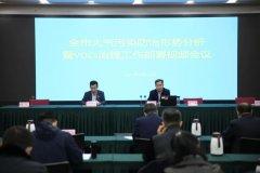 临沂市召开大气污染防治形势分析暨VOC