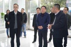 安徽省生态环境厅赴合肥市高新区调研环保产业发展情况
