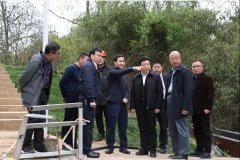 江西省生态环境厅调研督导上饶市风顺