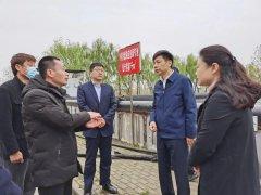 亳州市调研组调研西淝河清水廊道水污
