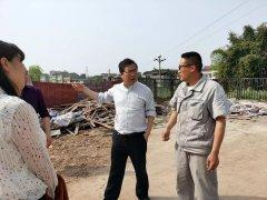 自贡市生态环境局开展沱江巡河检查